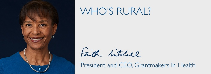 Letter from the President: Who is Rural?