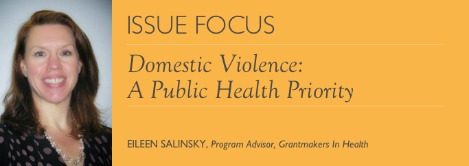 Issue Focus: Eileen Salinsky - Domestic Violence J
