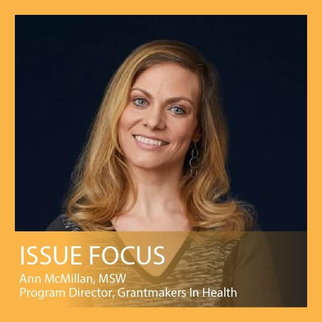 Issue Focus by Ann McMillan