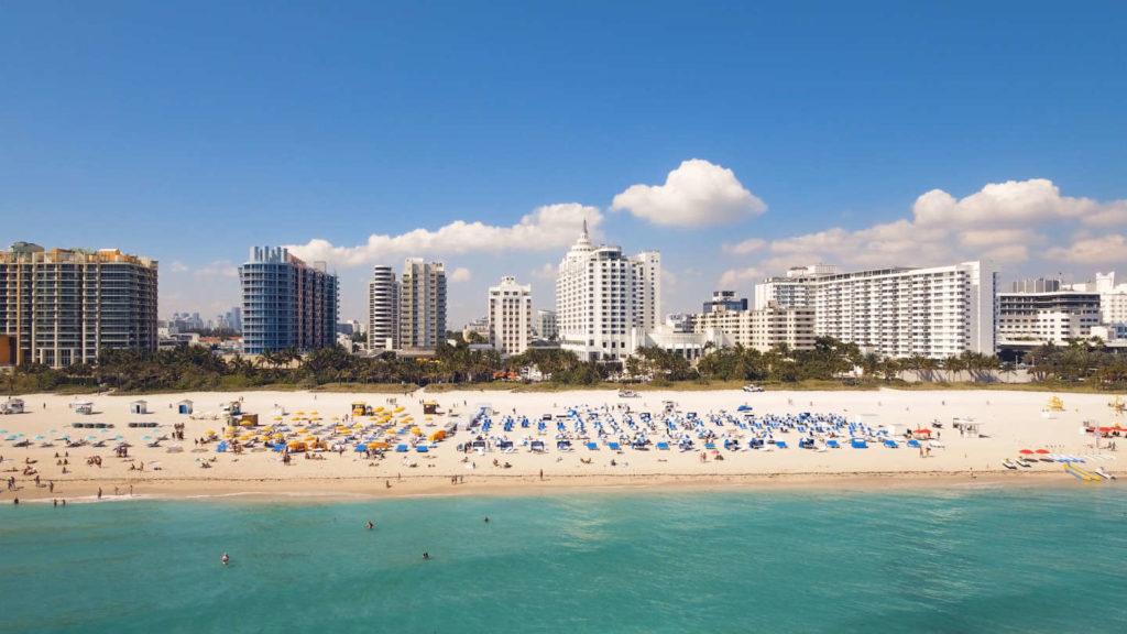 Miami Beach Skyline