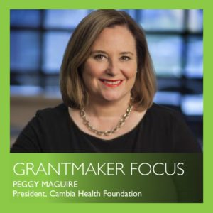 Grantmaker Focus by Peggy Maguire