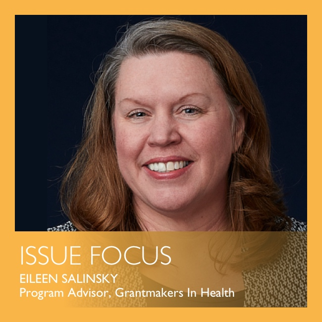 Issue Focus by Eileen Salinsky