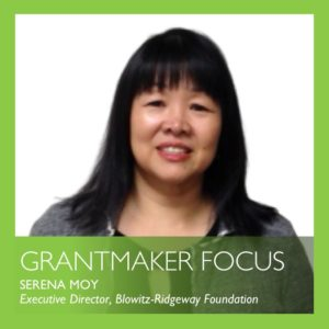 grantmaker focus by Serena Moy