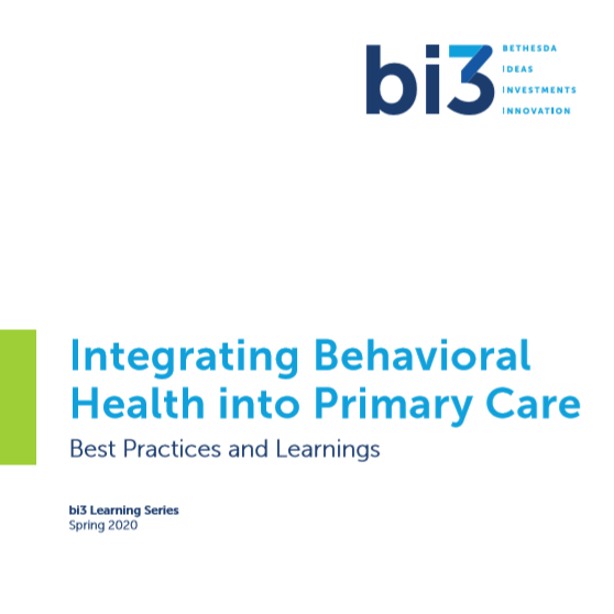 Bi3 Integrating Behavioral Health into Primary Care