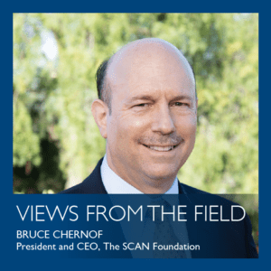 Views from the field by Bruce Chernof