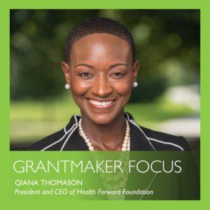 Grantmaker focus by Qiana Thomason