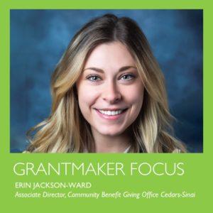 Grantmaker focus by Erin Jackson-Ward