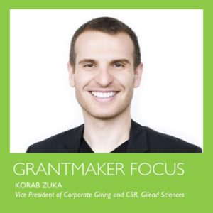 Grantmaker focus by Korab Zuka