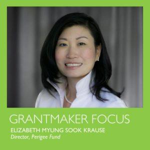 grantmaker focus: Elizabeth Krause