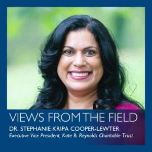 Views from the field by Stephanie Kripa Cooper-Lewter